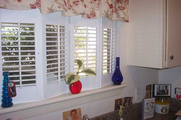 Shutters In Place Of Curtains