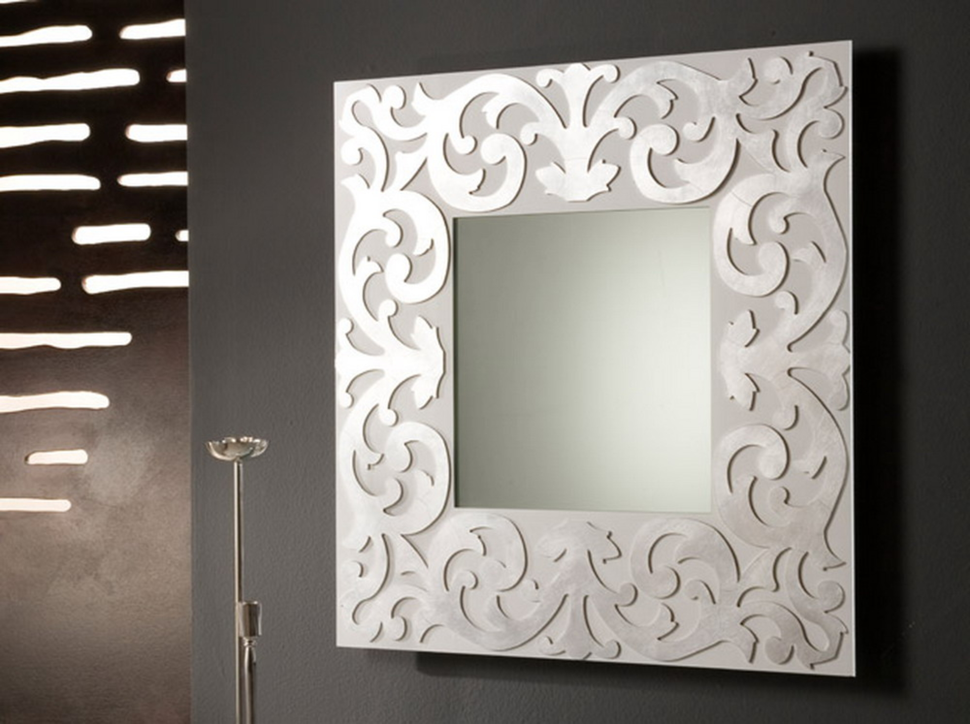 Different types of wall mirrors my decorative - Fancy wall designs ...