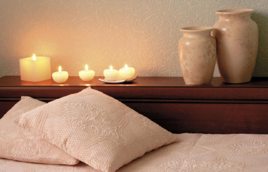Candle Light Bedroom