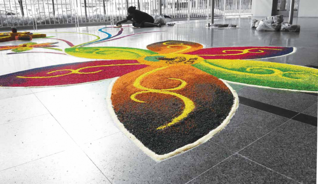 Diwali Rangoli Festive Decor