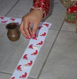 Goddess Lakshmiji Footprints