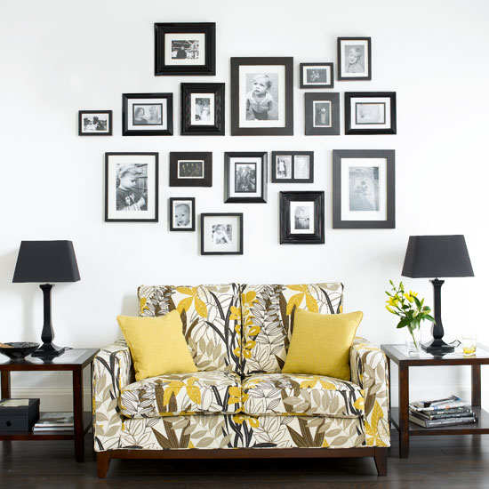 Ideal Picture Frame Feature Wall