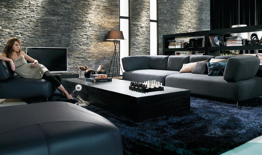 Modernization of Wall Modern Home Interiors