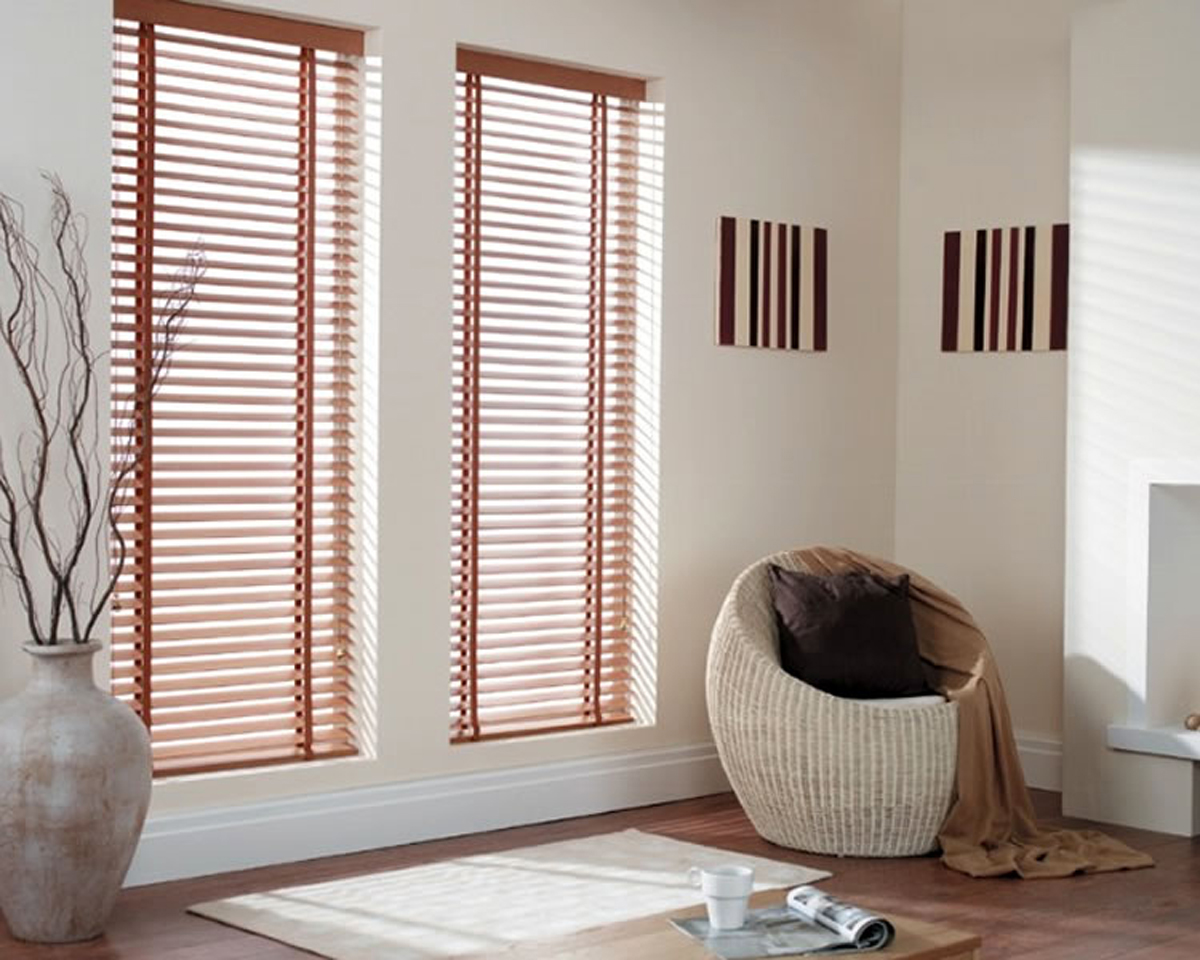 Window Treatments Design Home Interior Light Planning Venetian Blinds