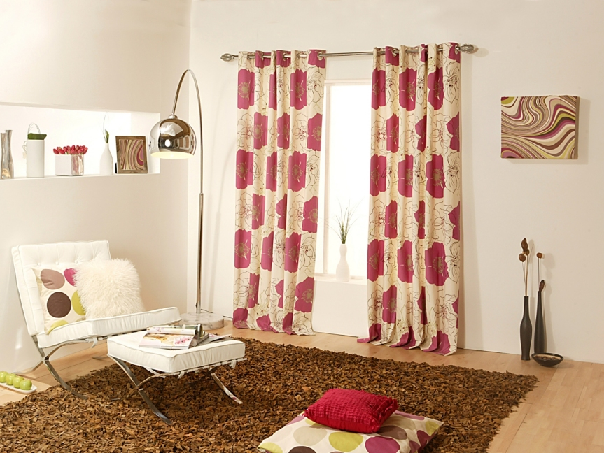 Beautiful Curtains and Carpet