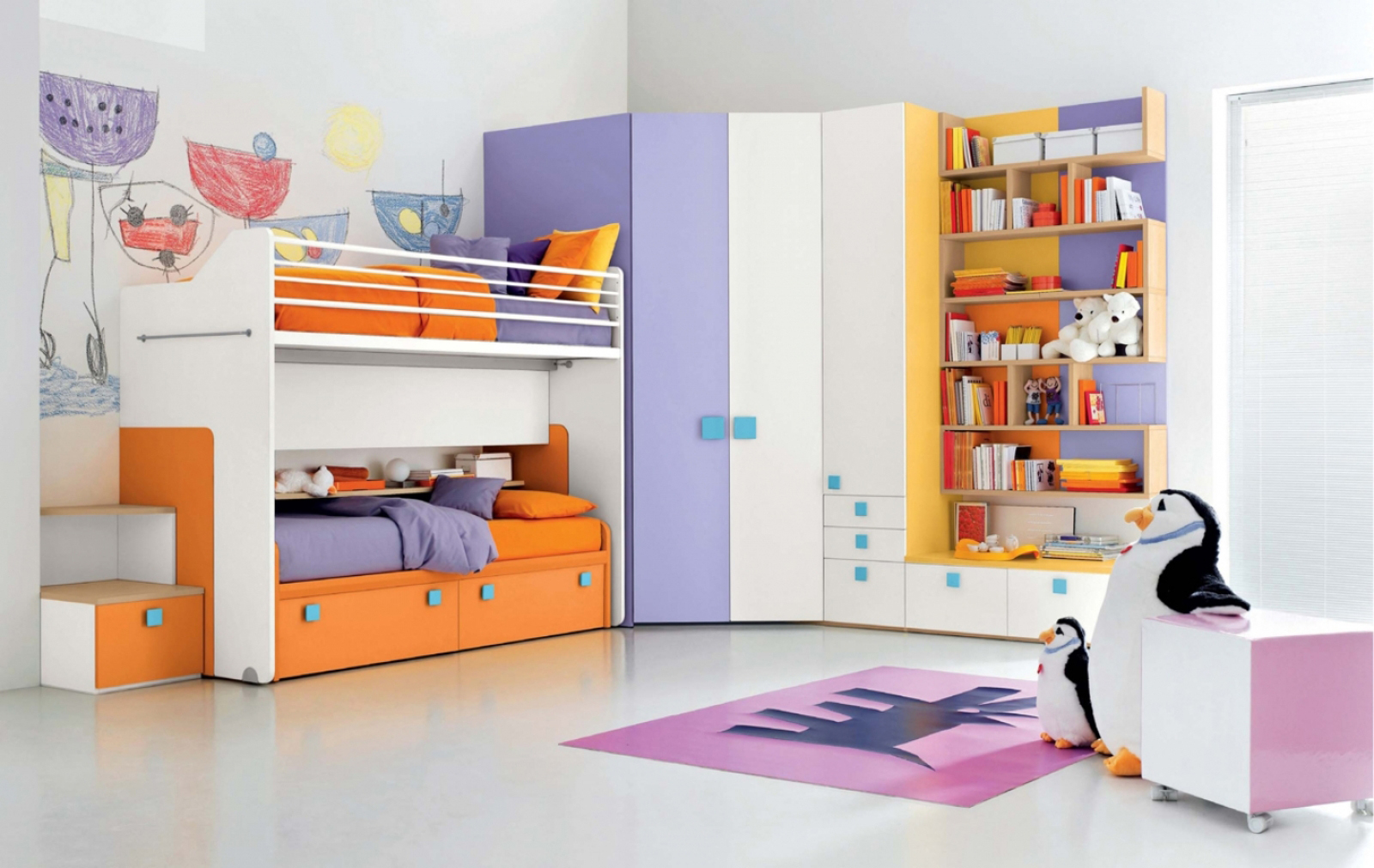 Few Vibrant and Lively Kids Bedroom Ideas | My Decorative