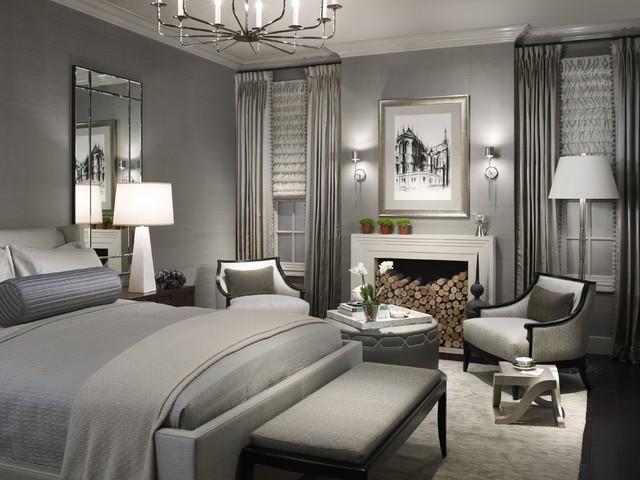 Contemporary Dark Bedroom