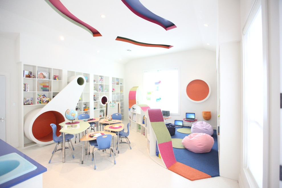 Contemporary Kids Room Lighting
