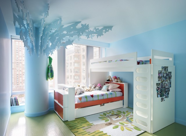 Electric Bedroom for Kids