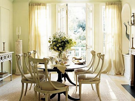 French Country Interior Design For Elegant Dining