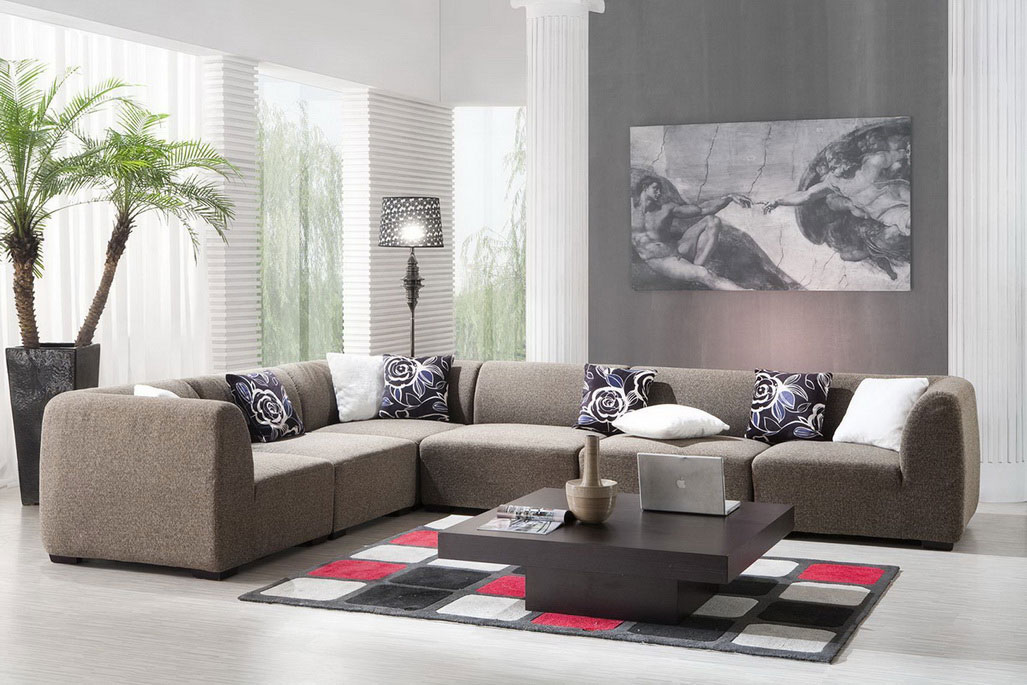 Simple Modern Living Room Design: Contemporary Living Room Décor: Pictures