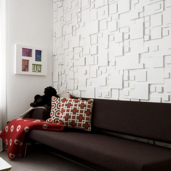 Textured Wall Modern Interiors