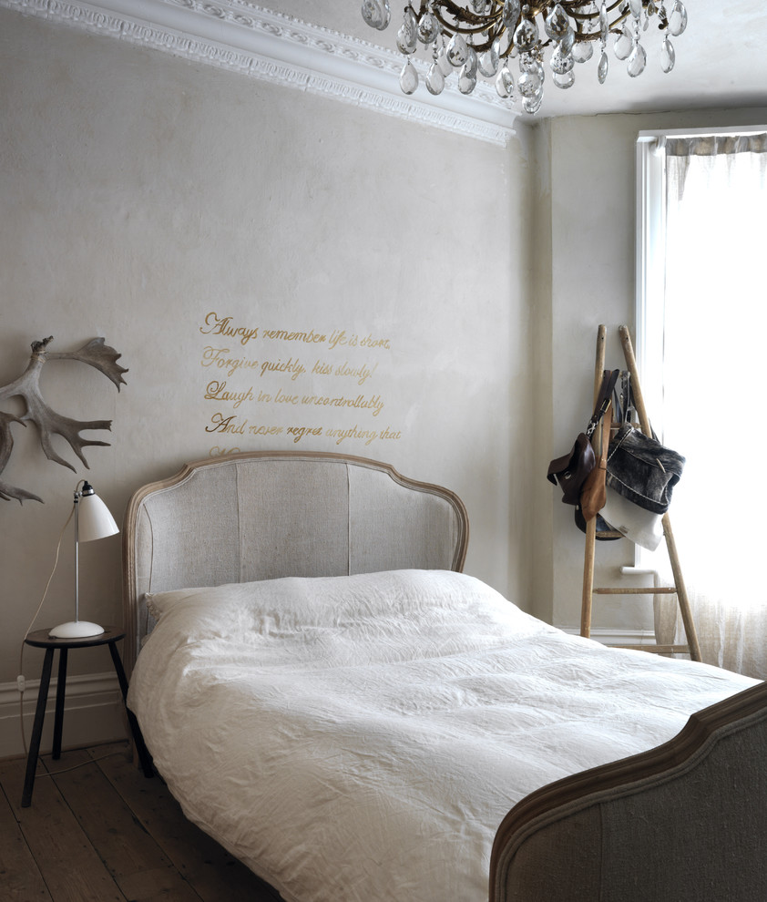 Art of words and letters as latest d cor trend my decorative for Monochromatic bedroom designs
