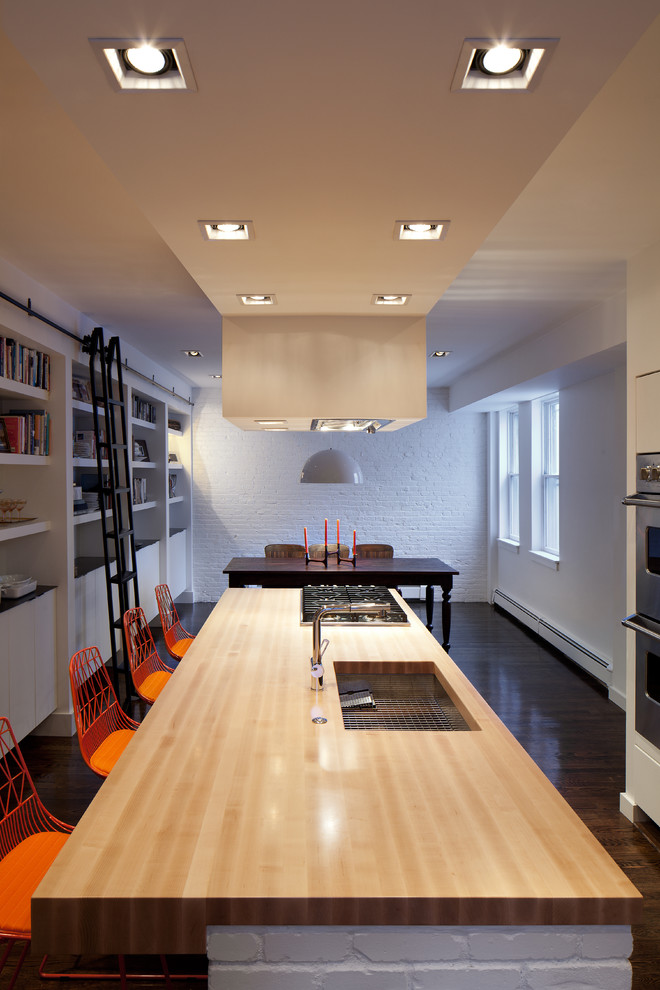 Compact Led In Modern Kitchen