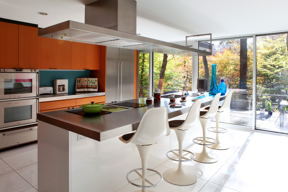 Contemporary Kitchen Ventilation Design