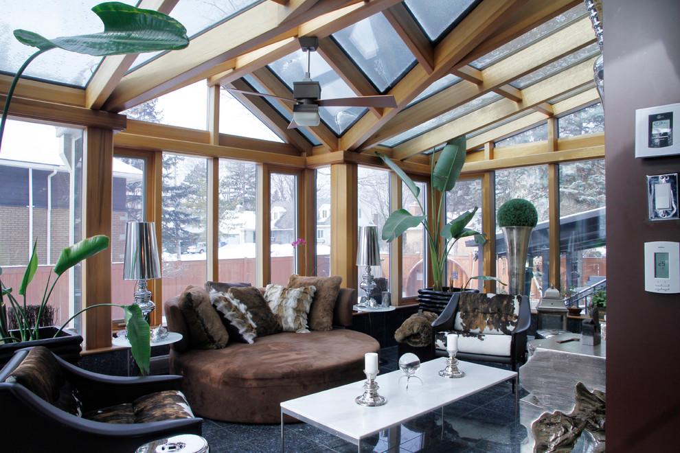 Modern Contemporary Porch