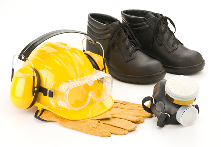 Safety Equipment for Face and Gloves