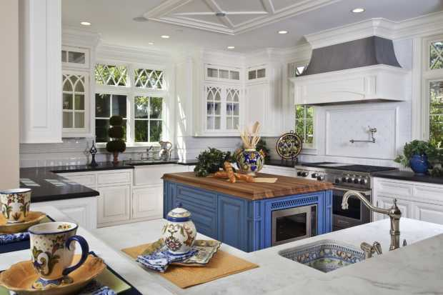 Traditional Kitchen Island Designs