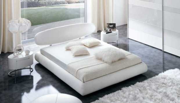 Astounding Contemporary White Bedroom Clean Mattress