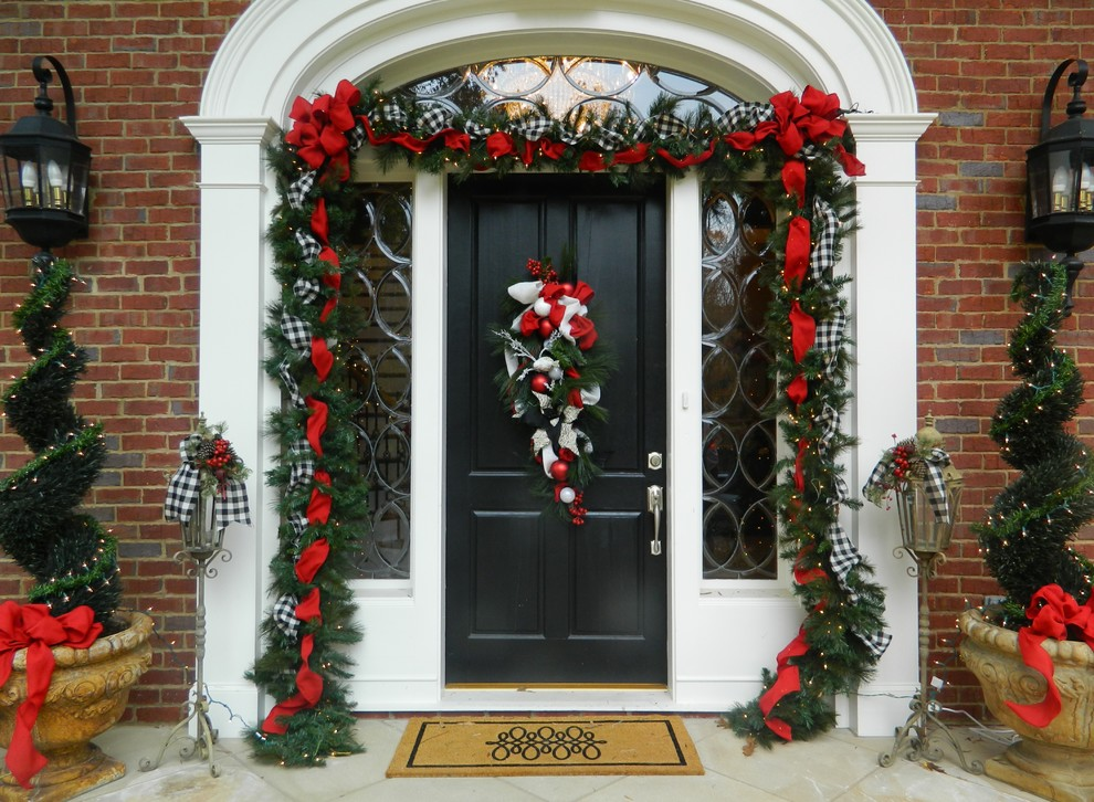 Christmas Entrance Decoration