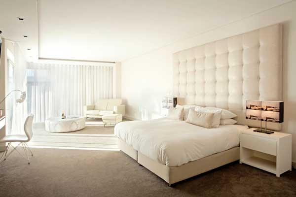 Clean Bedroom and Bed Mattress