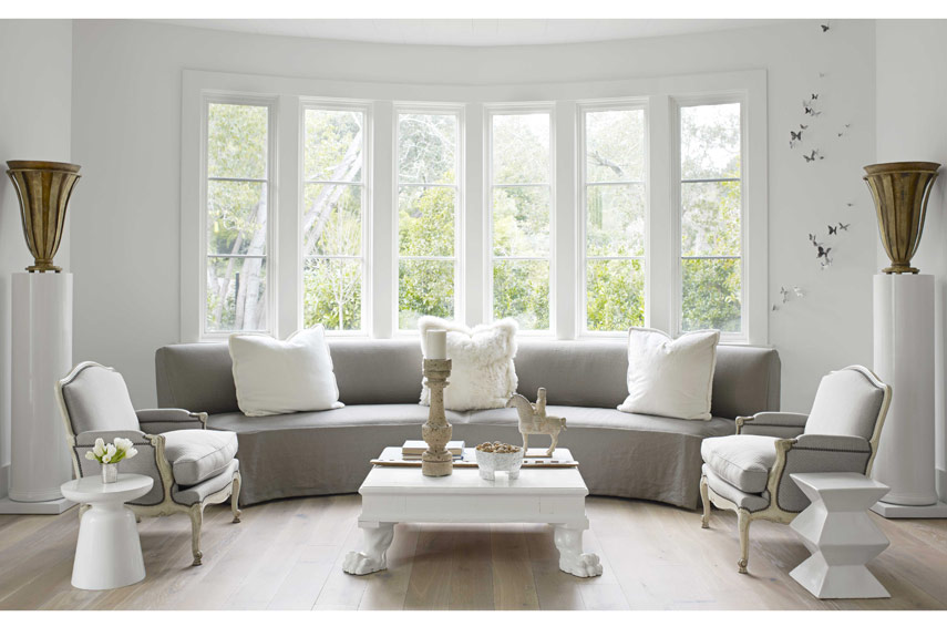 french modern windows - Modern French Living Room Decor Ideas 2