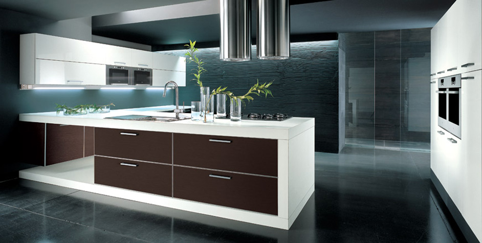 Sleek Kitchen Design Ideas ~ Kitchen island makes difference in décor and functionality