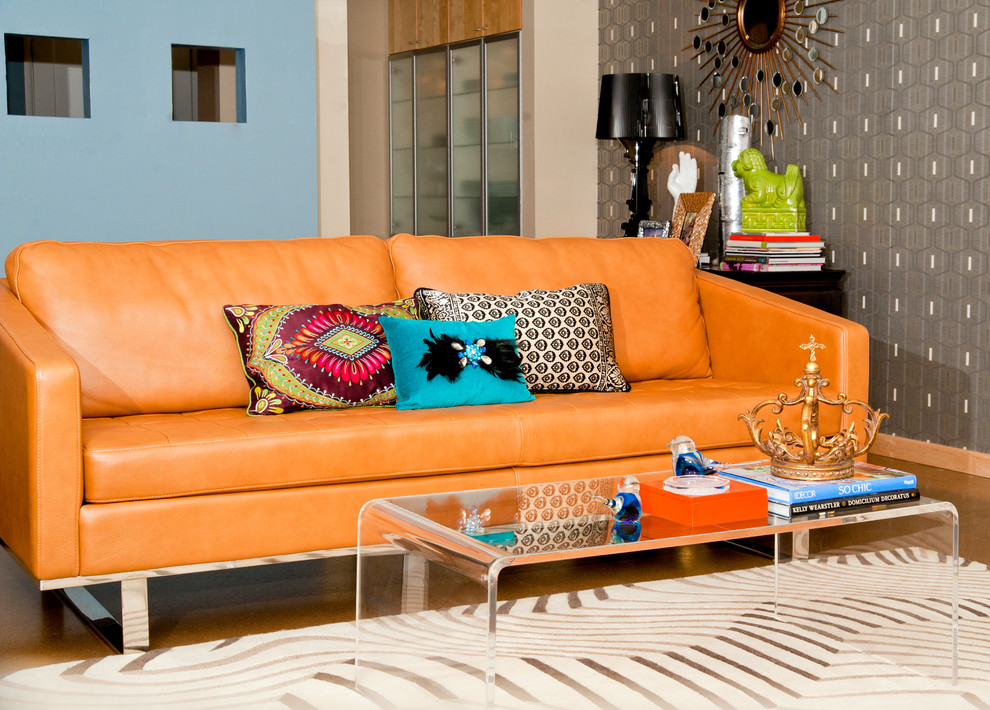 Mix and Match Patterns in Modern Living Room