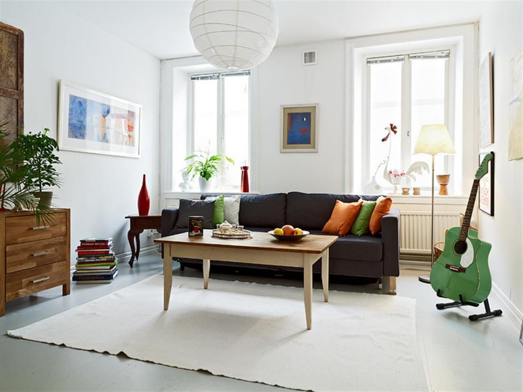 Modern Home Decoration with Area Rugs Sofa