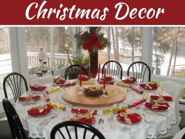 Perfect Christmas Table Setting