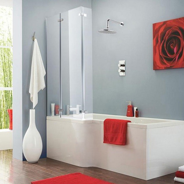 Premier Square Shower Bath Screen and Side Panel