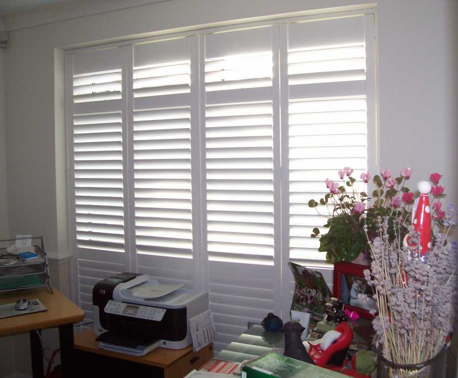 Shutters for High Windows