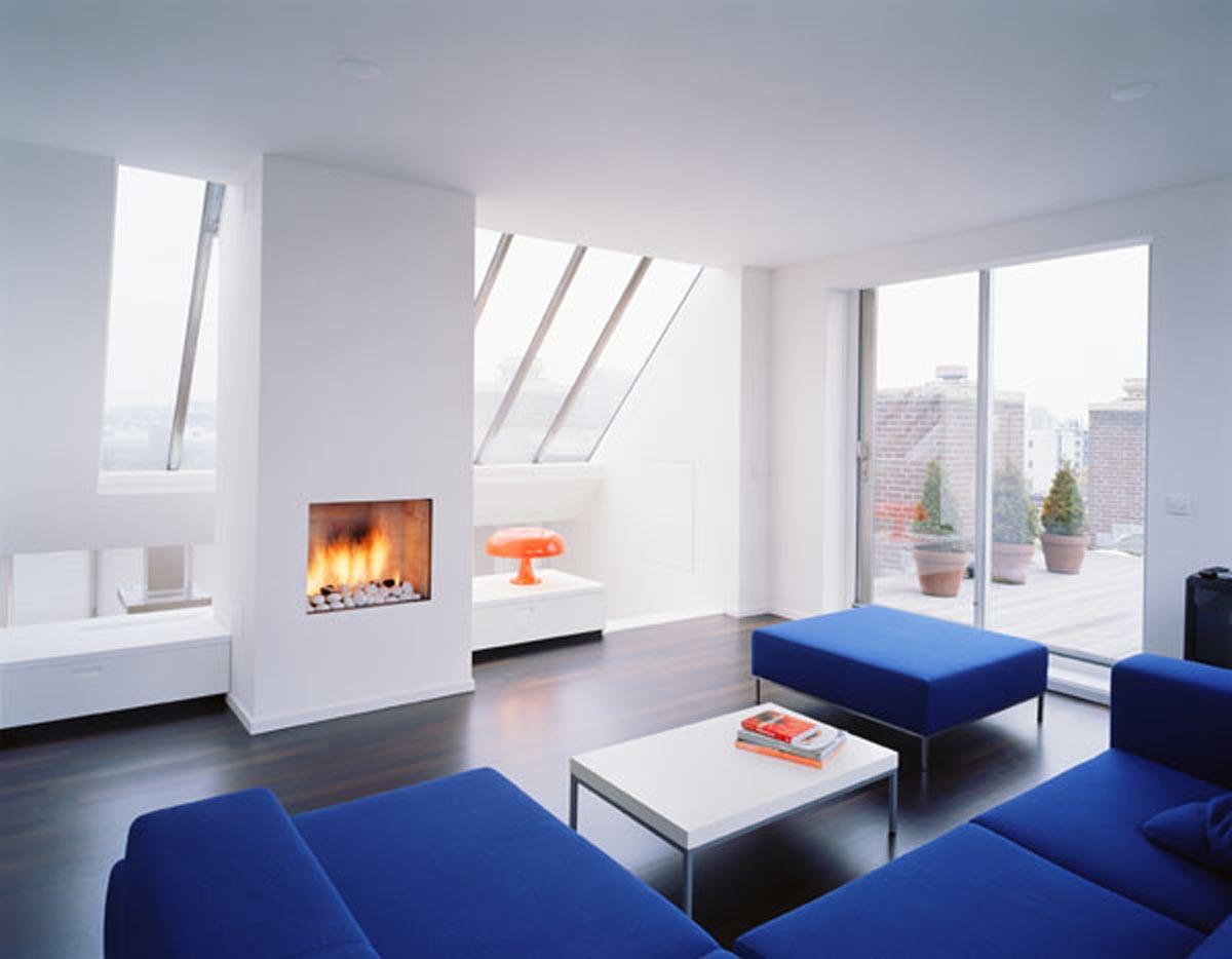 Winter Modern Interiors Living Room