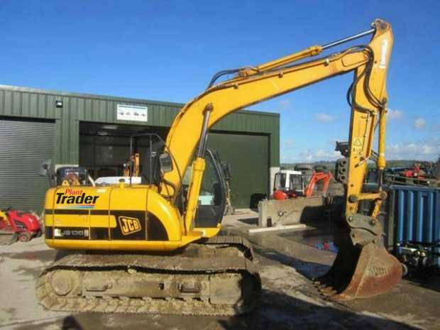 JCB JS130 13 Ton Digger on Plant Trader