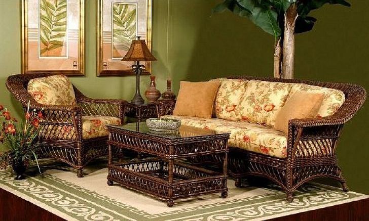 Classic Furniture Wicker Chair Cushions
