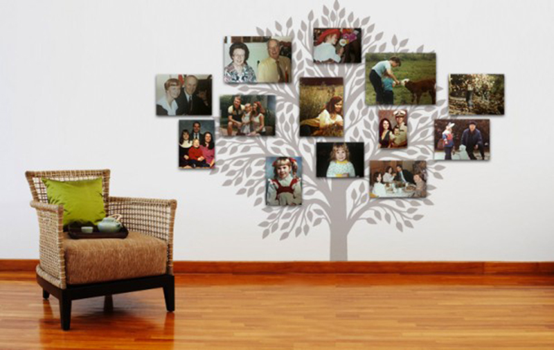 Few Ideas For Wall Decorations By Image Printers My