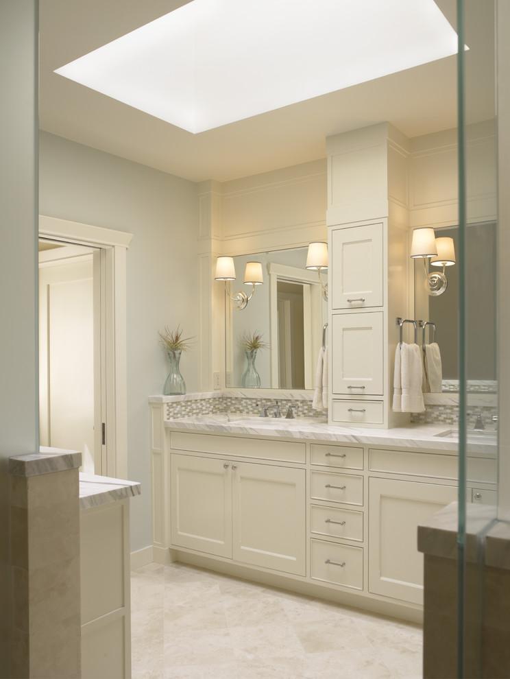 Polished Marble in Bathroom