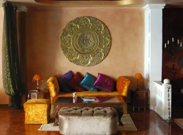 Excotic Moroccan Bedroom