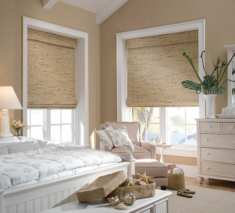 Bamboo Blinds in Kids Bedroom