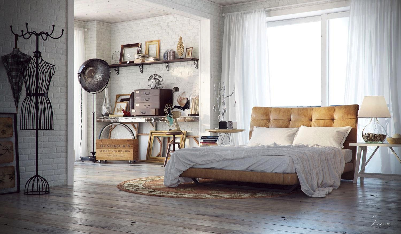 bedroom industrial interior designs - Industrial Interior Design Ideas