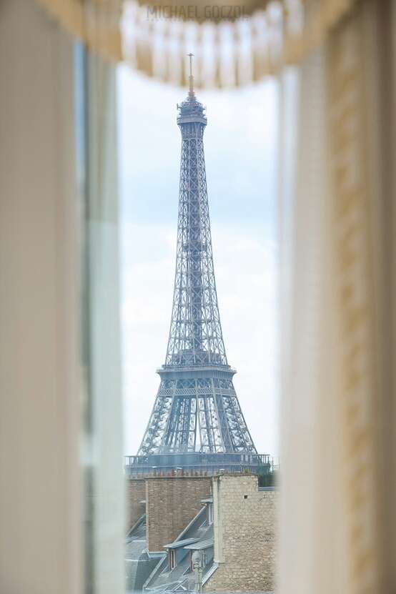 Eiffel Tower View Photography