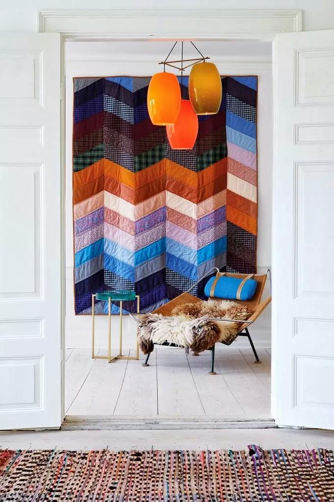 Elegant modern pop interior design~01