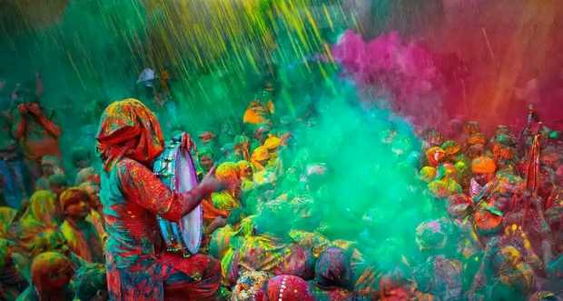 Holi Festival Colour