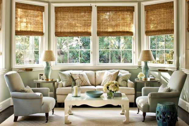 Island Beauty Bamboo Blinds For Living Room