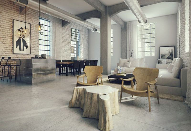 Exquisite Industrial Interior Designs My Decorative