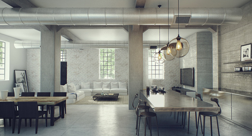 So Get Inspired And Enjoy These Stunning Industrial Interior Designs