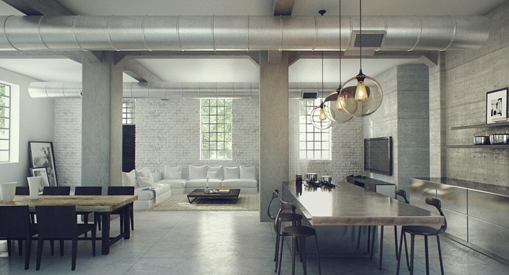 exquisite industrial interior designs  my decorative