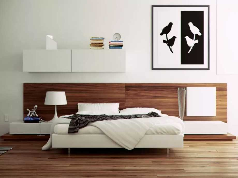 Modern bedroom furniture white sofa design