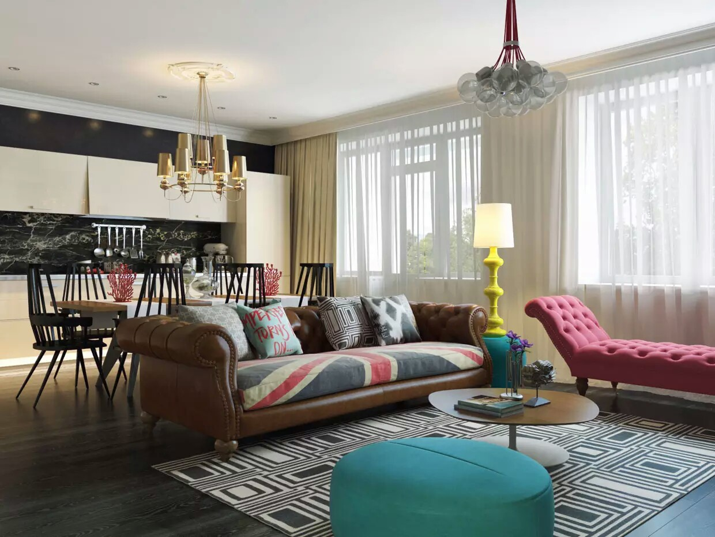 Pop Interior Design | //goo.gl/fDxB6F | My Decorative on beautiful home exterior design, h&m home design, house design,