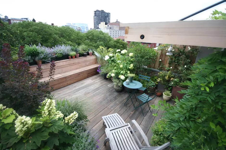 Terrace gardens of new york city my decorative for Terrace landscape